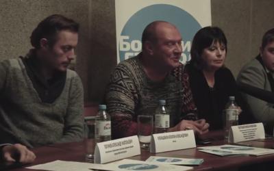 Пресс-конференция участников гастролей Тбилисского драматического театра
