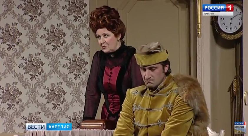В Петрозаводск приехал старейший на Северном Кавказе театр