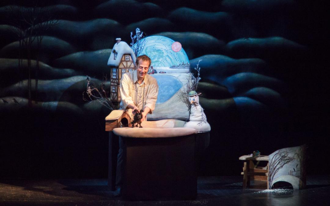 Образцовский Театр кукол побывал с гастролями в Молдове
