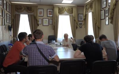Лауреат «Золотой маски» Майя Шавдатуашвили провела двухдневный мастер-класс в Старом Осколе.