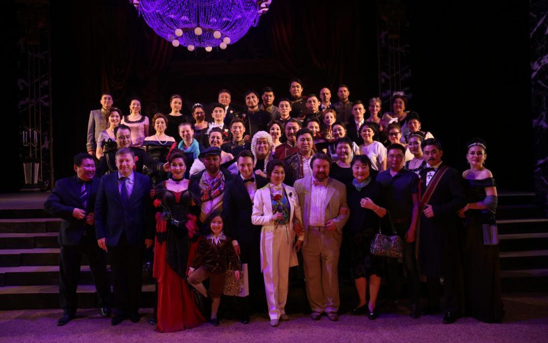 Бурятский театр оперы и балета Г.Ц.Цыдынджапова посетит Владивосток