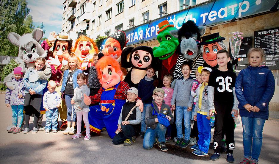 Театр ростовых кукол «Софит» побывал в Выборге