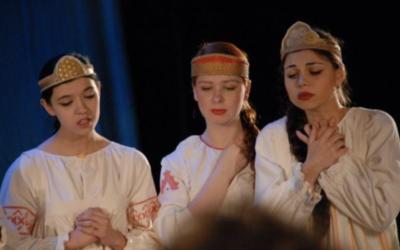 Встреча двух театров юного зрителя проходит в Санкт-Петербурге