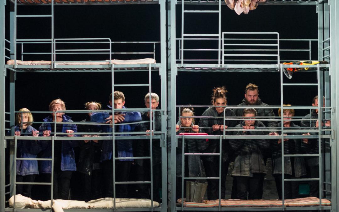 Герои Дона Нигро и Чингиза Айтматова на курганской сцене