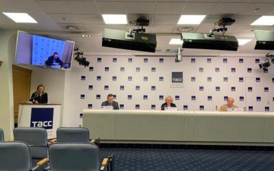 В ТАСС (г. Санкт-Петербург) состоялась пресс-конференция в формате онлайн, на которой официально были открыты «Большие гастроли-2021»