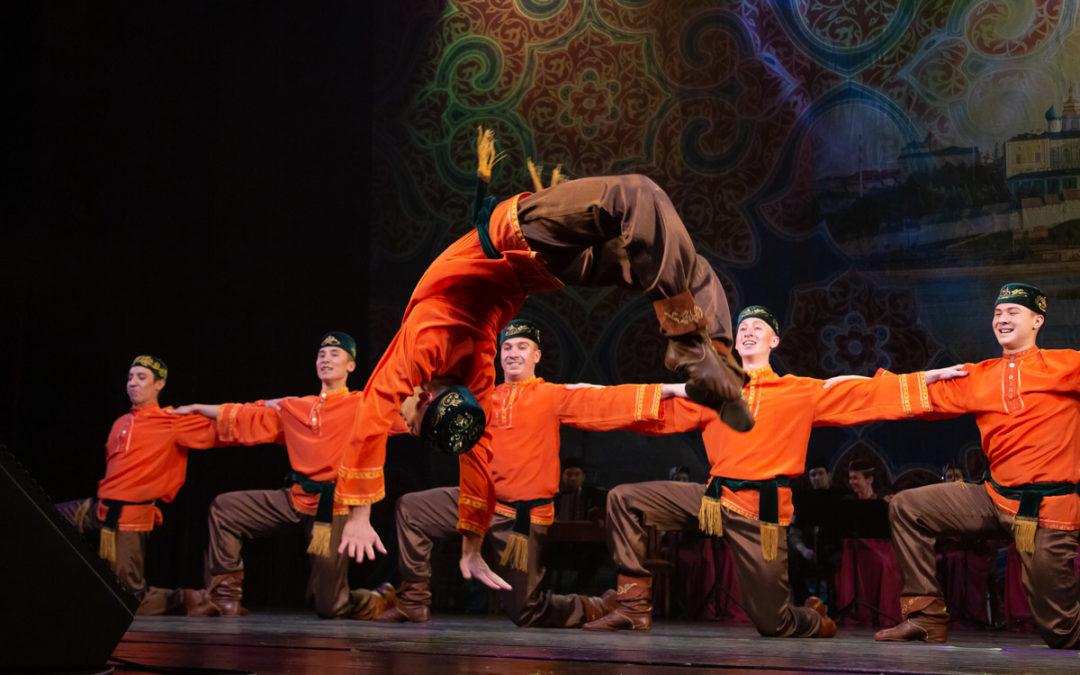 Ансамбль песни и танца Татарстана выступит в Тюменской области